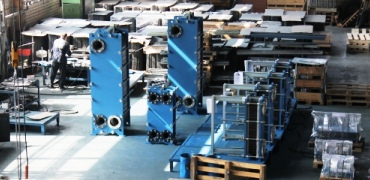 etra free flow heat exchanger small